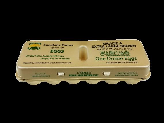 Sunshine Farms Extra Large Brown Dozen